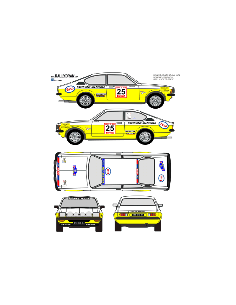 Opel Kadett GTE Dorche Costa Brava 1979