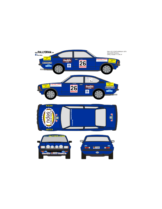 Opel Kadett GTE Sallent Costa Brava 1979