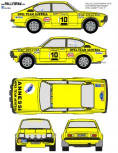 Opel Kadett GTE Wittman Costa Brava 1978