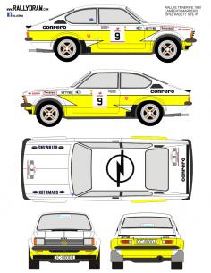 Opel Kadett GTE Lamberti Tenerife 1980