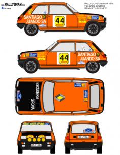 Renault 5 Alpine Folgado Costa Brava 1978