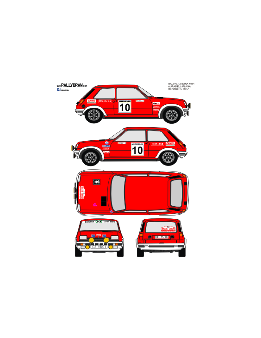 Renault 5 Alpine Auradell Girona 1981