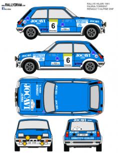 Renault 5 Alpine Fauria Hilari 1981