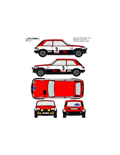 Renault 5 Alpine Babler Emporda 1982