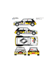 Renault 5 Maxiturbo Sainz San Froilan 1985