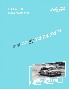 Fiat 600 D Targa Florio 1957