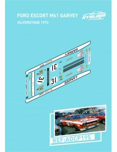 Ford Escort MKI Garvey Silverstone 1973