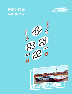 Ford GT40 Sebring 1969