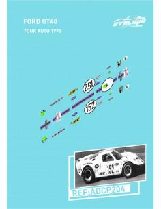 Ford GT40 Tour Auto 1970