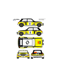 Renault 5 Turbo Ortiz Catalunya 1981