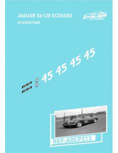 Jaguar XK120 Ecosse Silverstone