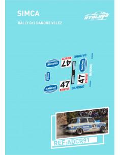Simca Rally Gr3 Danone Velez