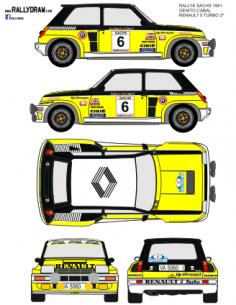 Renault 5 Turbo Ortiz Sachs 1981