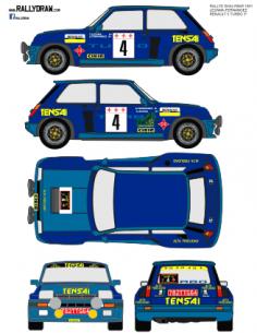 Renault 5 Turbo Lezama Shalymar 1981