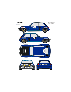 Renault 5 Turbo Davila Tenerife 1981
