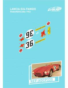 Lancia D20 Targa Florio 1953