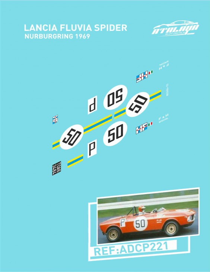 Lancia Fulvia Spider Nurburgring 1969