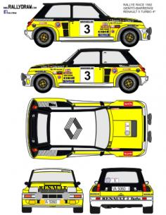 Renault 5 Turbo Ortiz Baviera 1982