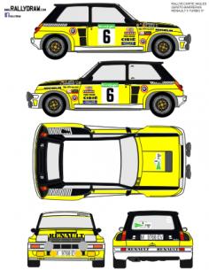 Renault 5 Turbo Ortiz Corte Ingles 1982