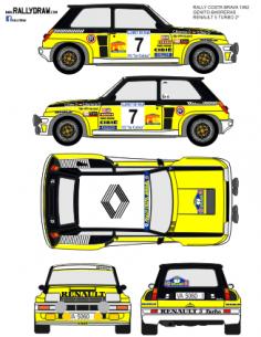 Renault 5 Turbo Ortiz Costa Brava 1982