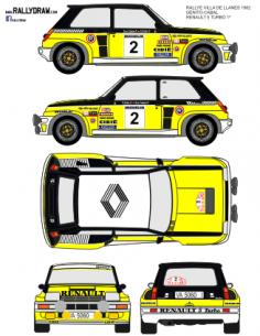 Renault 5 Turbo Ortiz Llanes 1982