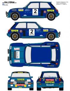 Renault 5 Turbo Ortiz R.Gonzalez 1982