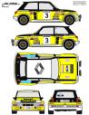 Renault 5 Turbo Ortiz Rias Bajas 1982