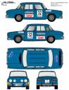 Renault 8 Clot Costa Brava 1970