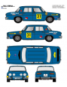 Renault 8 Pavon Costa del Sol 1970