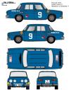 Renault 8 Sainz Fallas 1970