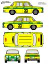 Renault 8 Sallent Invierno 1970