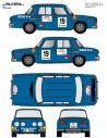 Renault 8 Van Dulken Ourense1970