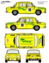 Renault 8 Luis Pikolin 1970