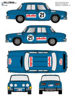 Renault 8 Peleato Pikolin 1970