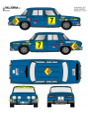 Renault 8 Sainz Alicante 1971