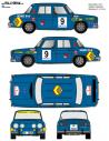 Renault 8 Sainz Baviera 1971