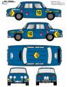 Renault 8 Pavon Ourense 1971