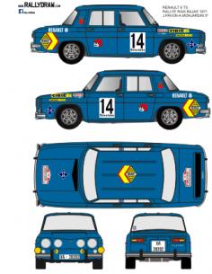 Renault 8 Pavon Rias Bajas 1971