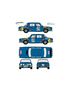 Renault 8 Tramont Sherry 1971
