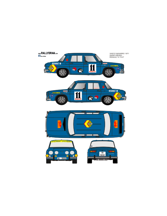 Renault 8 Sainz VascoNavarro 1971