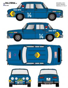 Renault 8 Rasilla Fallas 1971