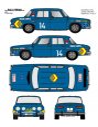 Renault 8 Rasilla Fallas 1972