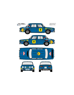 Renault 8 Rasilla Rias Bajas 1972