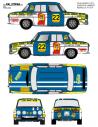 Renault 8 Sabater Guilleries 1973