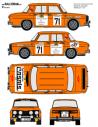 Renault 8 Bassas Catalunya 1981