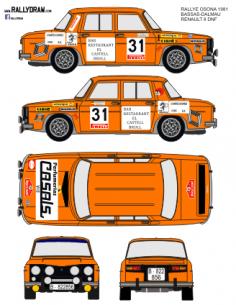 Renault 8 Bassas Osona 1981