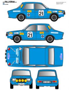 Renault 12 Folgado Costa Brava 1974