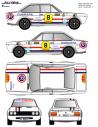 Seat 124 Sport Rasilla 2000 Virajes 1971