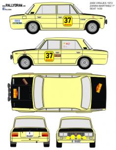 Seat 1430-124 Zanini 2000 Virajes 1972