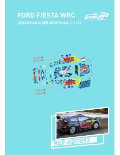 FORD FIESTA WRC OGIER MONTECARLO 2017